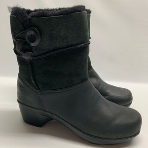 Dansko Stormy Fur Leather Boots 39